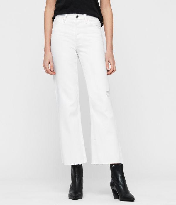 Helle Crop Kickflare Jeans