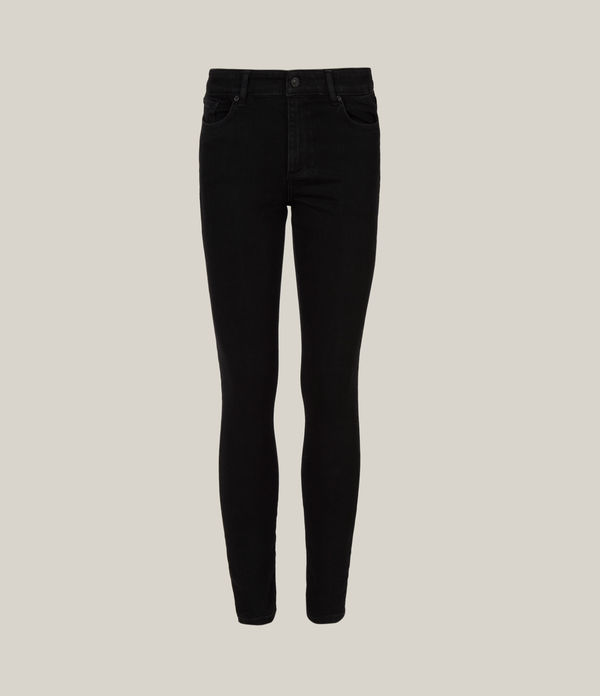 Miller Mid-Rise Size Me Jeans, Black