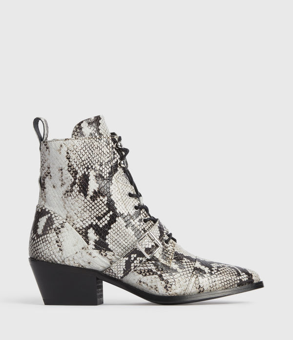 Bottines Effet Serpent Katy