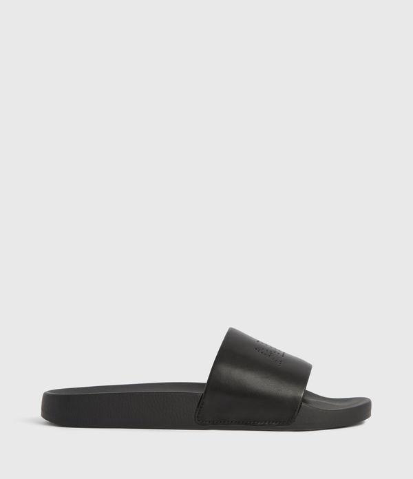 Karli Leather Sliders