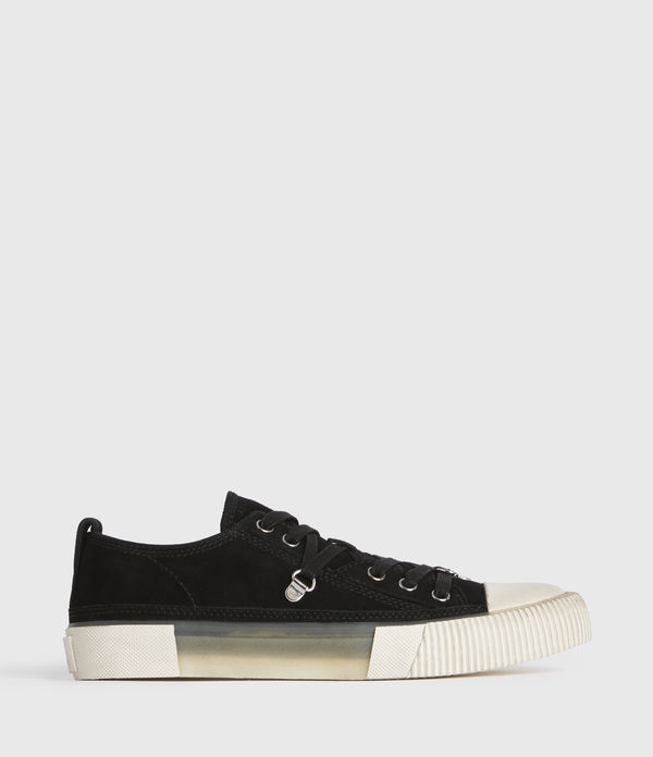 Jazmin Low Top Suede Trainers
