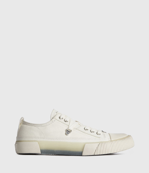 Jazmin Canvas Low Top Trainers