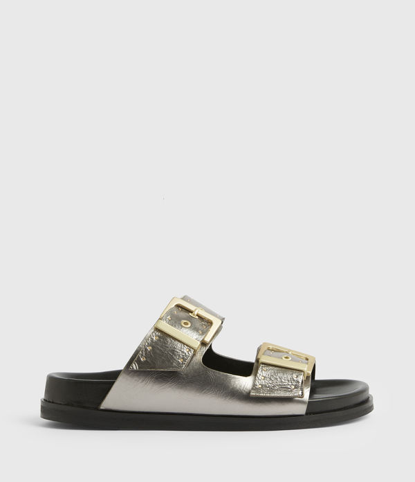 mae leather sandals