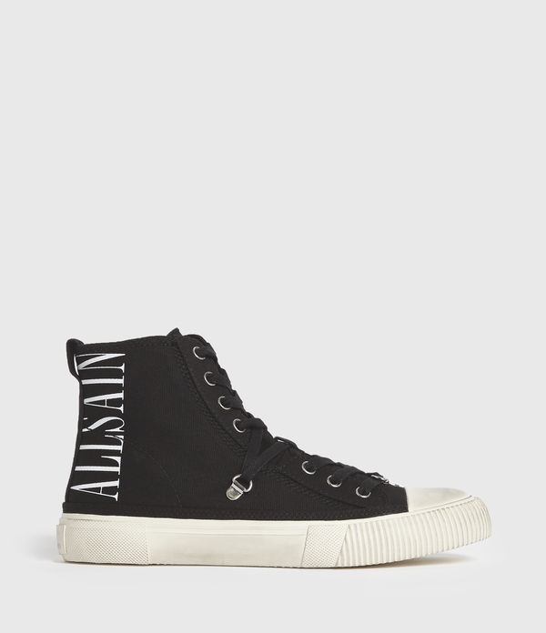 elena stamp high top trainers