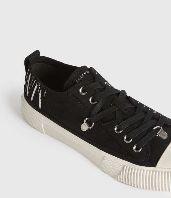 Jazmin Stamp Low Top Trainers