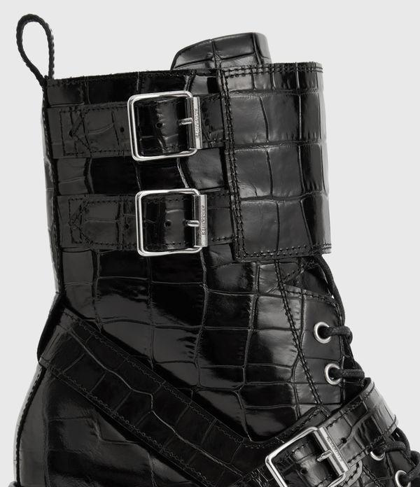 Alix Crocodile Boot