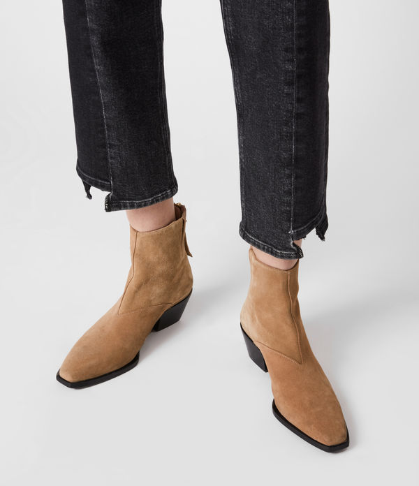 Lenora Leather Boots