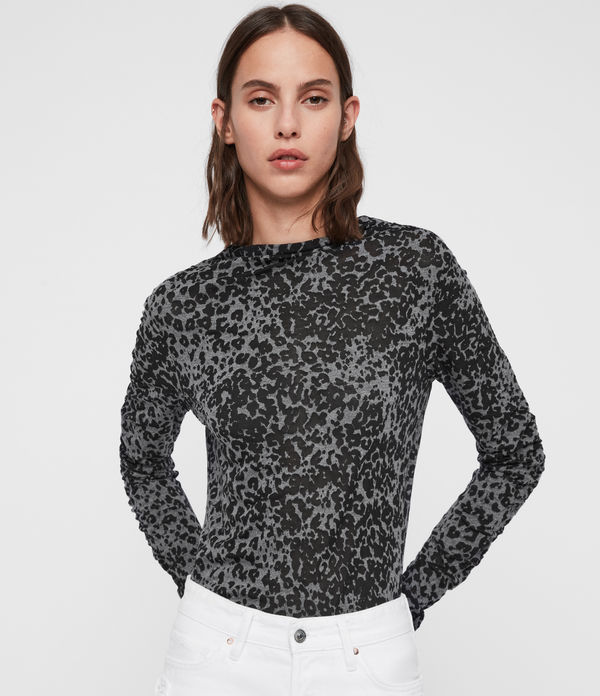 Francesco Leo Roll Neck Top