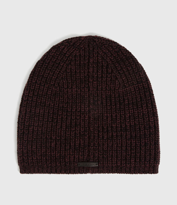 Twisted Wool Blend Beanie