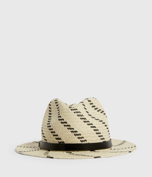 allie straw fedora hat