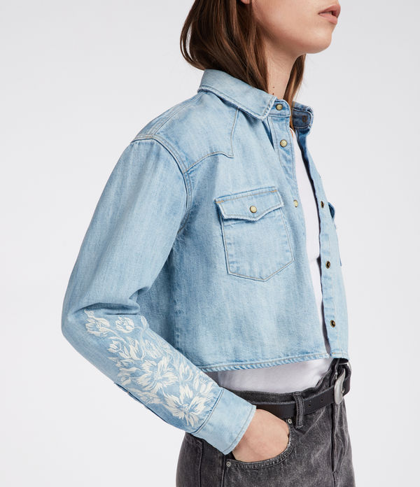 Flora Cannon Denim Shirt