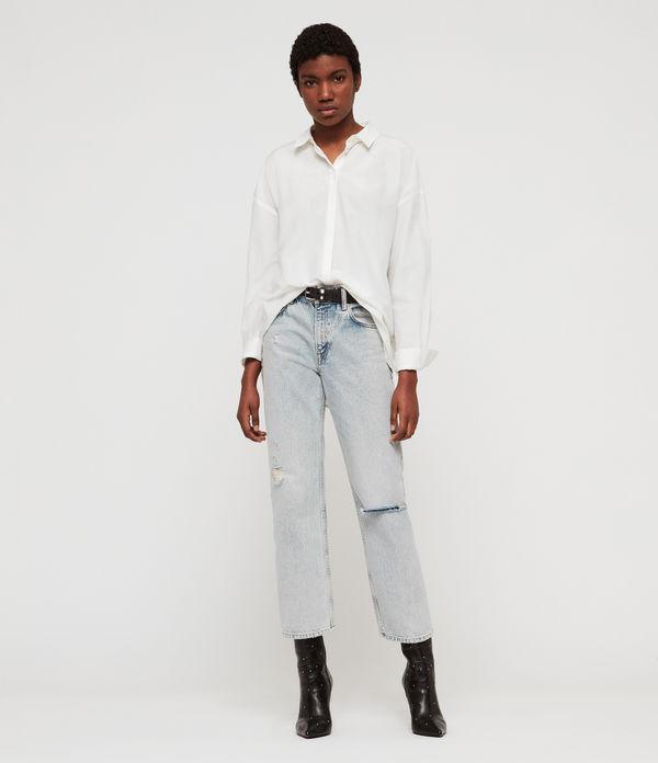 9bc76e535d ALLSAINTS UK: Women's shirts, shop now.