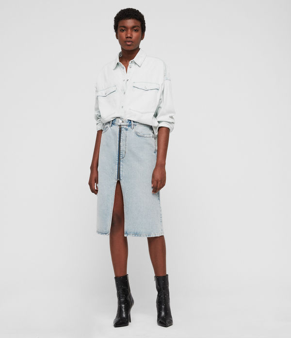 Harper Oversized Denim Shirt