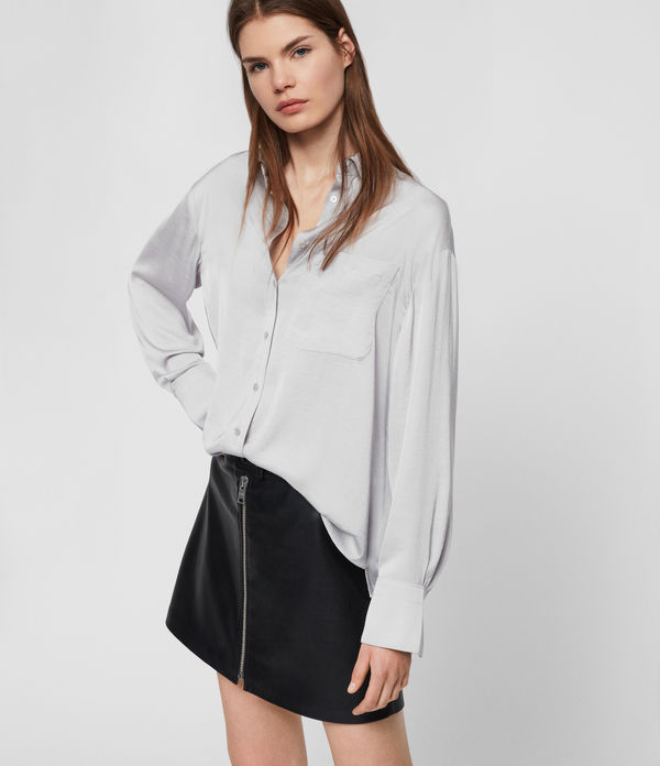 Bernie Satin Shirt