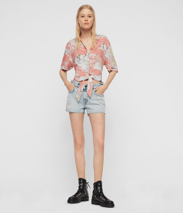 e118cd832c33a0 ALLSAINTS UK: Women's Tops & shirts, shop now.