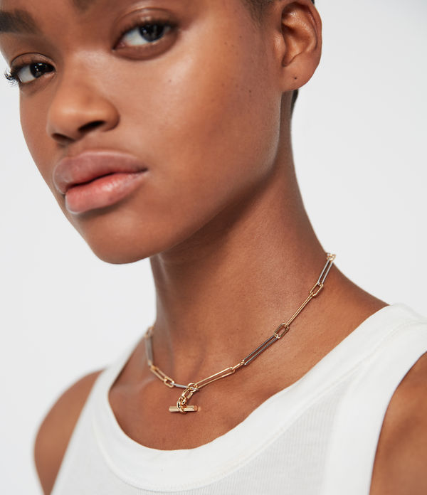 Mia Two-Tone Necklace