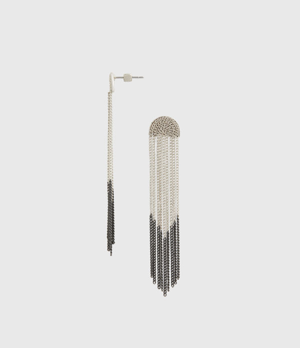 Electra Silver-Tone Drop Earrings