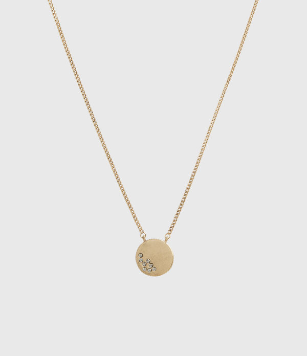 astrid gold-tone necklace