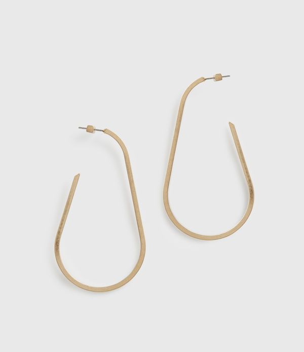 Venus Gold-Tone Hoop Earrings