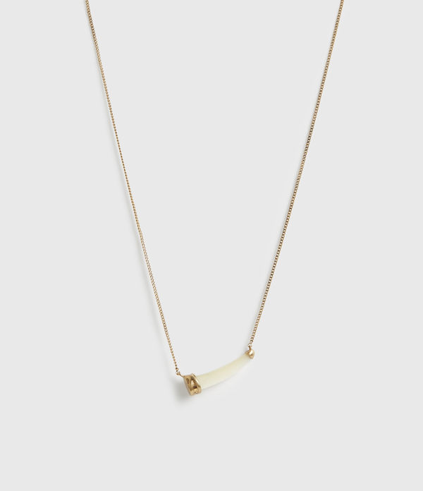Sadie Gold-Tone Mother Of Pearl Necklace
