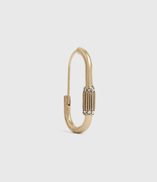 Mica Gold-Tone Hoop Earrings