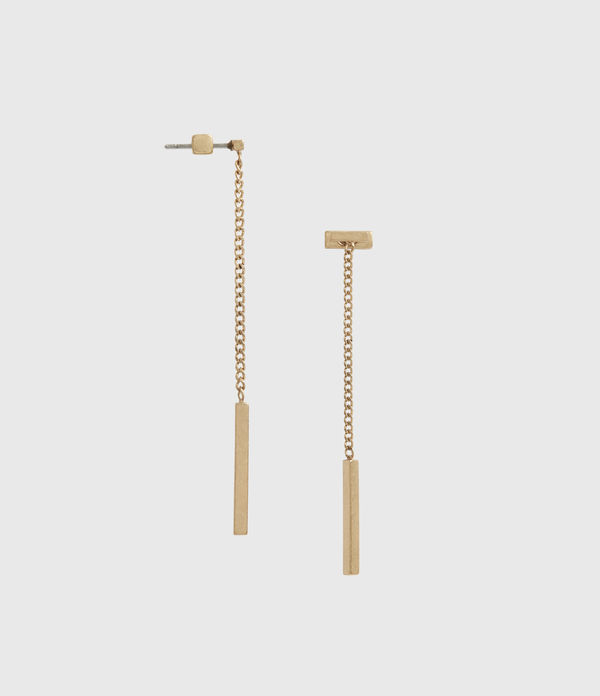 Mia Gold-Tone Drop Earrings