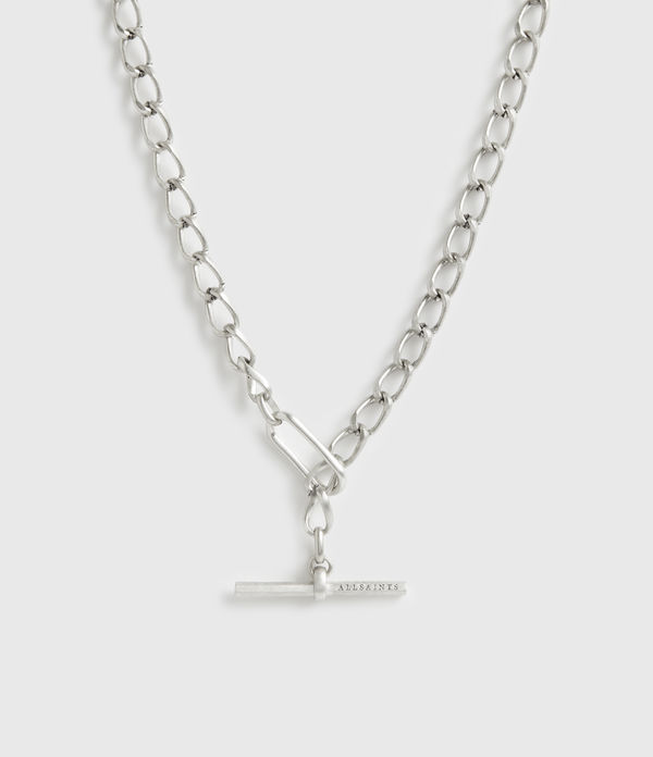 Eartha Silver-Tone Chain Necklace