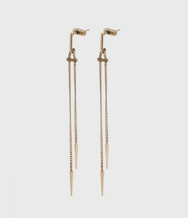 Cayuta Gold-Tone Drop Earrings