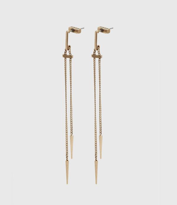 Cayuta Gold-Tone Drop Earrings