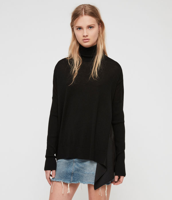Alda Roll Neck Jumper