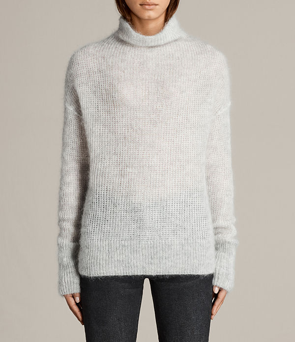 Deuce Cowl Neck Sweater