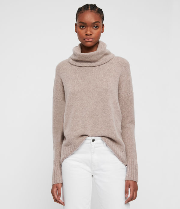 Arun Roll Neck Cashmere Jumper