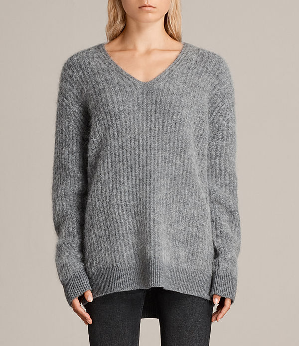 ade v-neck sweater