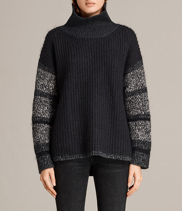 Keats Funnel Neck Sweater