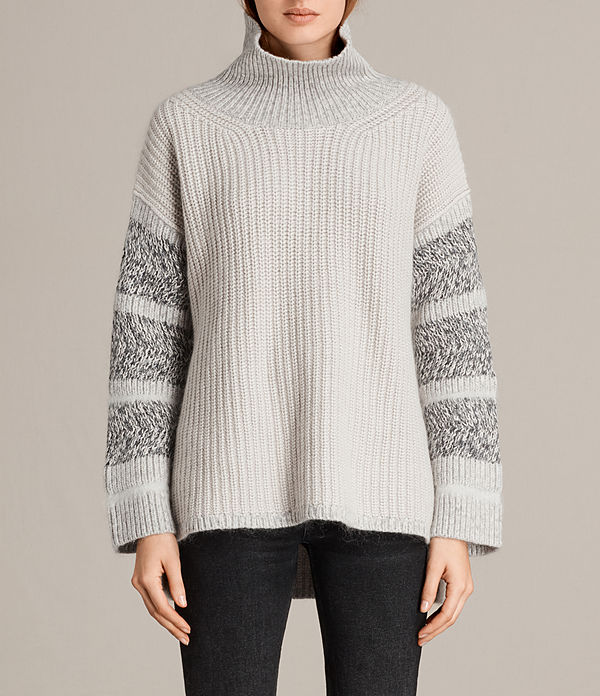 Keats Funnel Neck Jumper