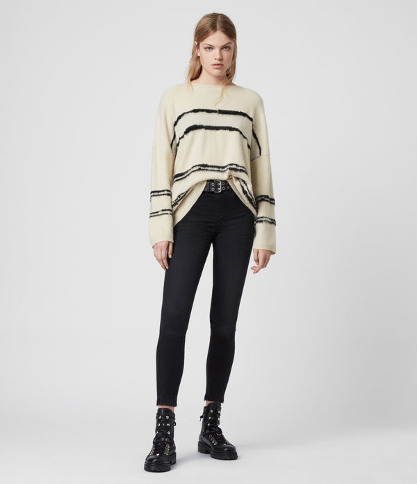 Tara Stripe Sweater