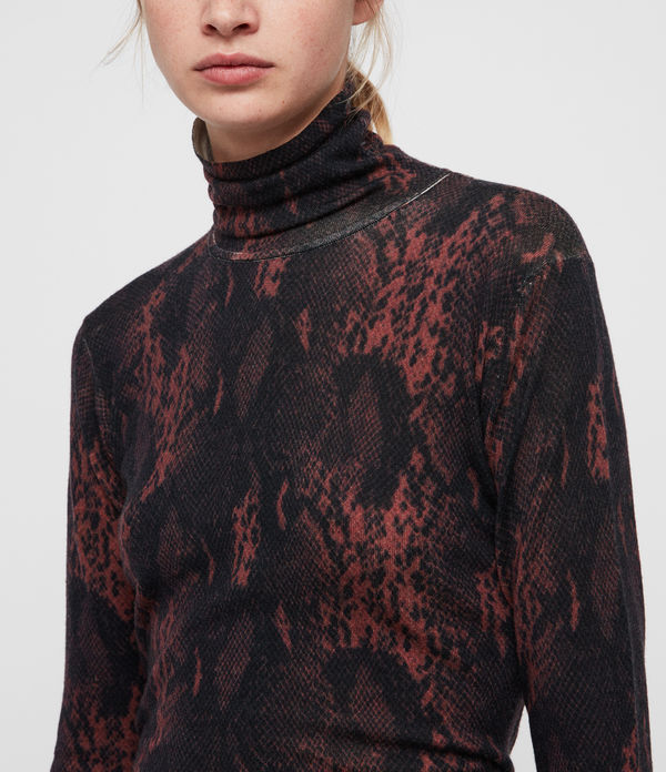 Suki Funnel Neck Sweater
