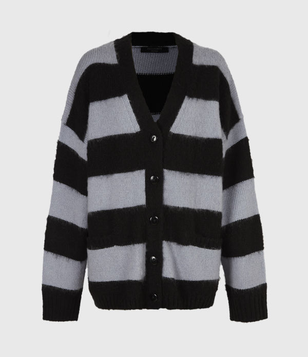 Lou Striped Cardigan