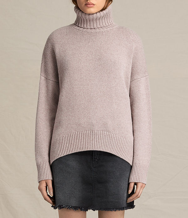 veda roll neck jumper