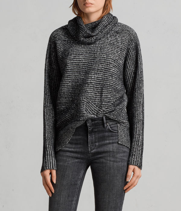 mesa roll neck jumper