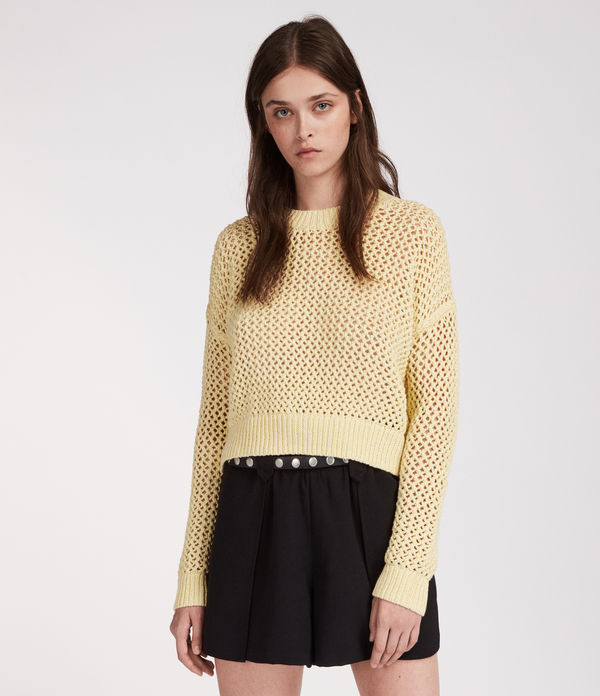 Arzana Cropped Sweater