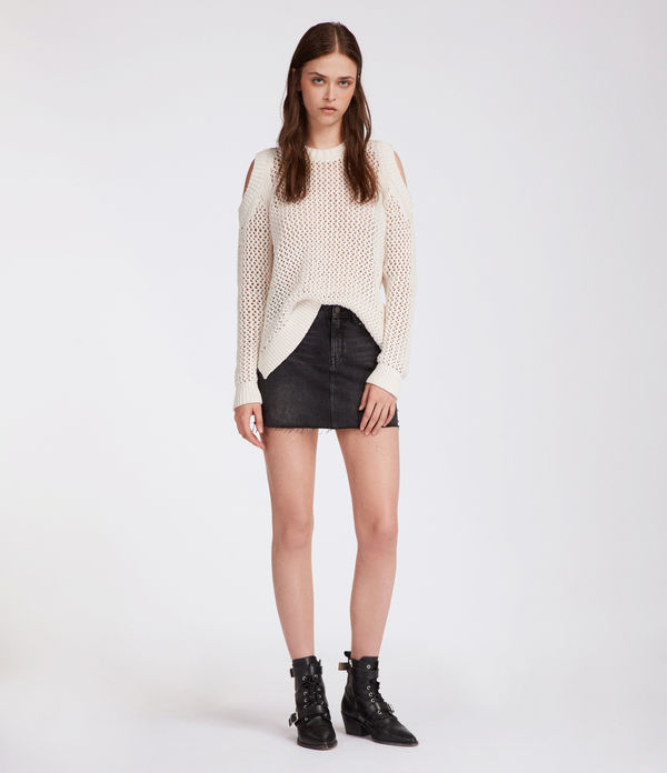 Arzana Open Shoulder Sweater