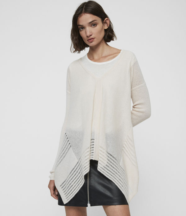 mara v-neck sweater