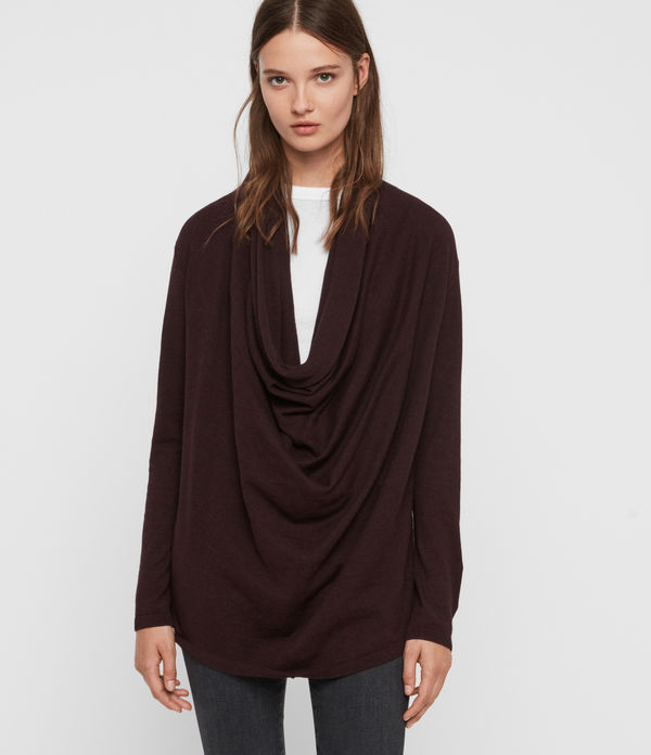 Remmy Cowl Neck Jumper