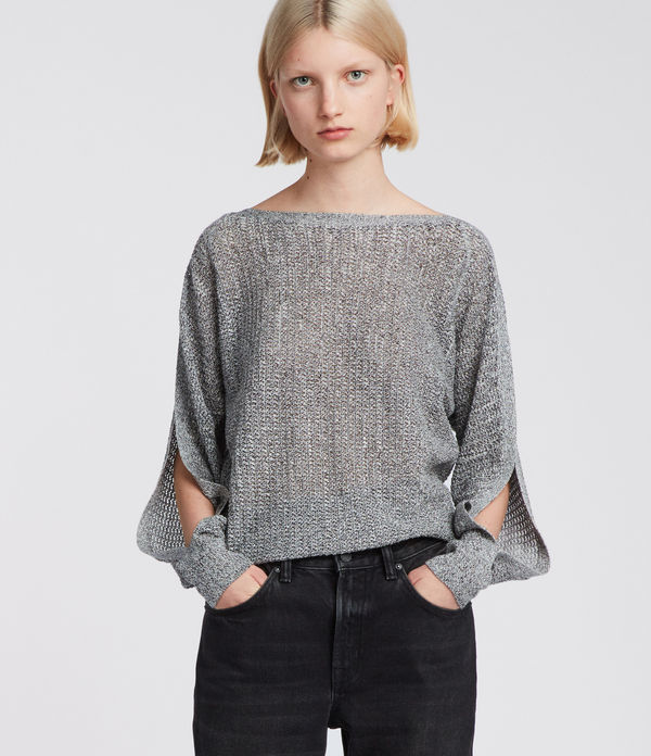 Elle Open Shoulder Knit Top