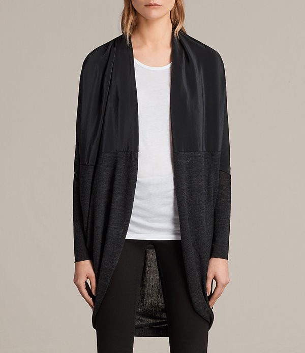 Silk Itat Shrug Cardigan