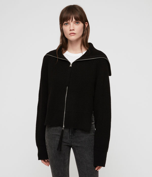 Jones Zip Through Sweater