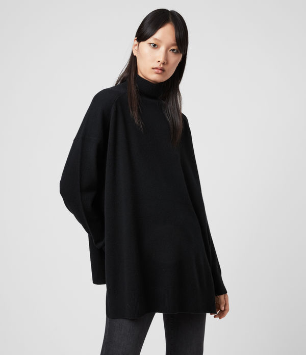 Gala Cashmere Roll Neck Jumper