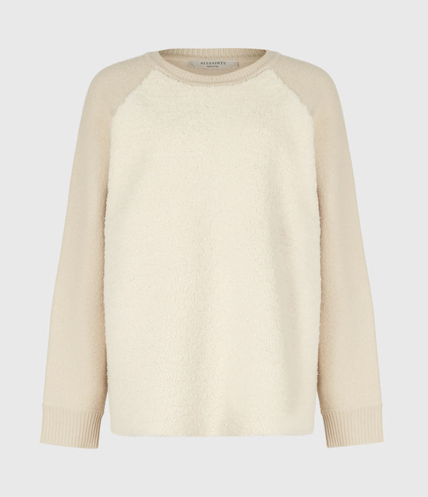 Shearling Sweater