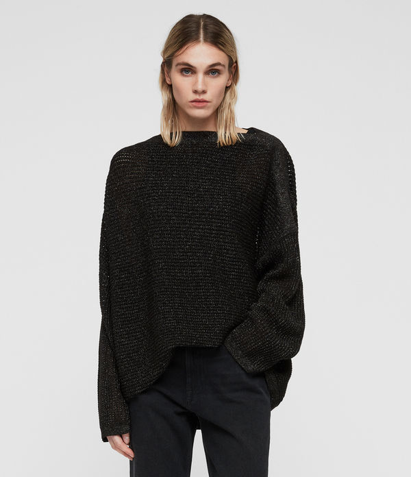 marcel metallic jumper